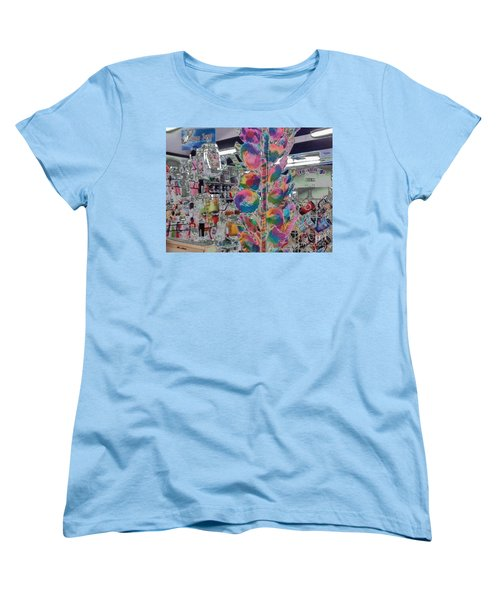 Candy Store Women's T-Shirt (Standard Cut) by Kathie Chicoine