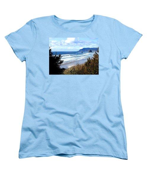 Cannon Beach Vista Women's T-Shirt (Standard Cut)