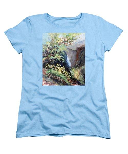 Canyon Land Women's T-Shirt (Standard Cut) by Linda Shackelford