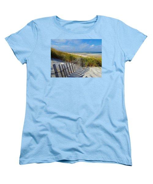 Cape Cod Charm Women's T-Shirt (Standard Cut) by Dianne Cowen