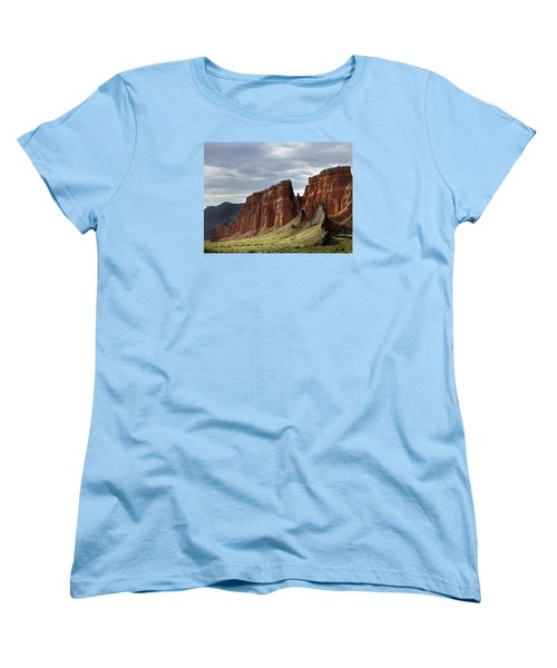 Capital Reef-cathedral Valley 9 Women's T-Shirt (Standard Cut) by Jeff Brunton