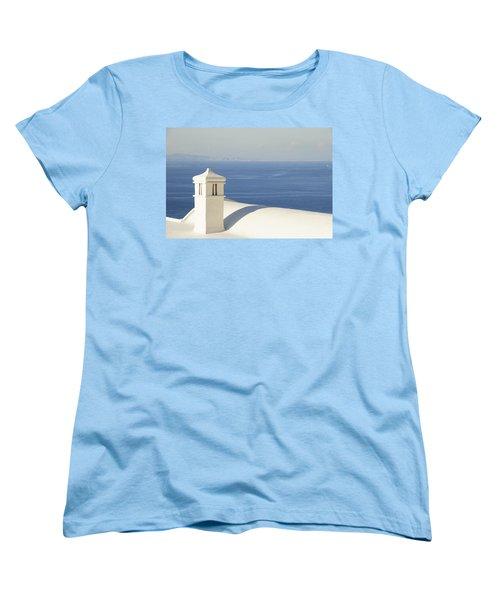 Women's T-Shirt (Standard Cut) featuring the photograph Capri by Silvia Bruno
