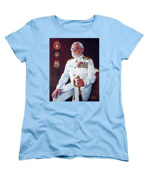 Capt John Lamont Women's T-Shirt (Standard Cut) by Tim Johnson