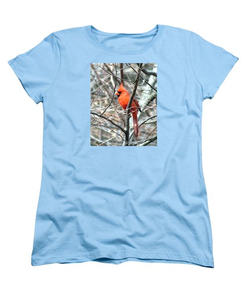 Cardinal 2 Women's T-Shirt (Standard Cut) by George Jones