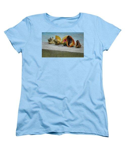 Women's T-Shirt (Standard Cut) featuring the photograph Caribbean Charisma by Karen Wiles