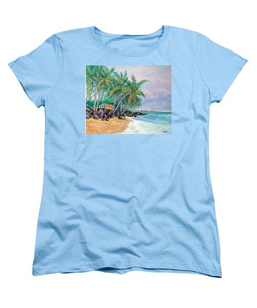 Caribbean Retreat Women's T-Shirt (Standard Cut)