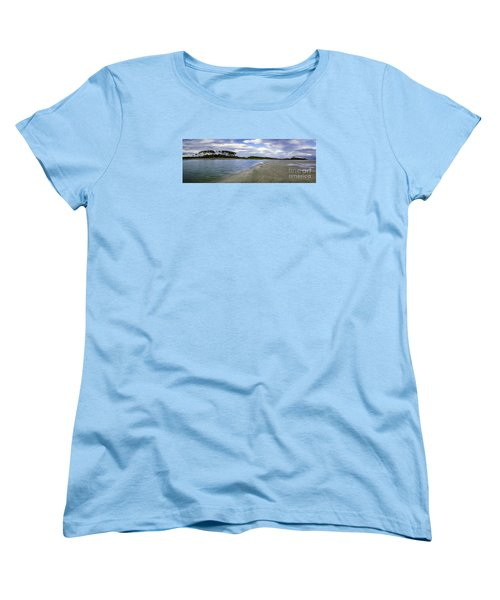 Carolina Inlet At Low Tide Women's T-Shirt (Standard Cut) by David Smith