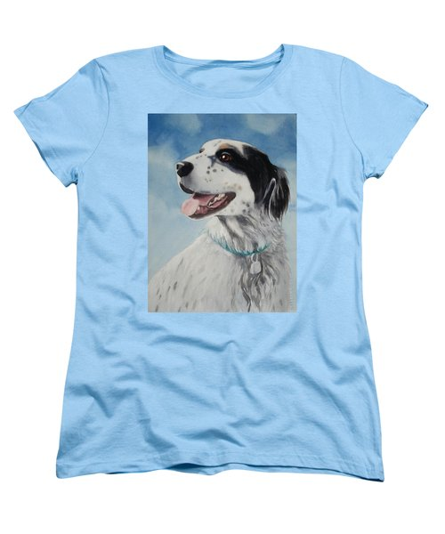 Women's T-Shirt (Standard Cut) featuring the painting Casey by Marilyn Jacobson