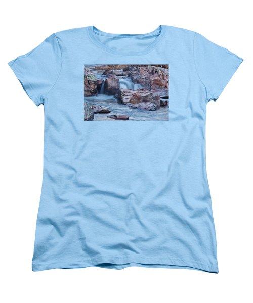Caster River Shut-in Women's T-Shirt (Standard Cut) by Robert Charity