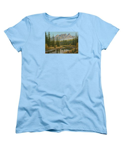 Castle In The Sky Women's T-Shirt (Standard Cut)