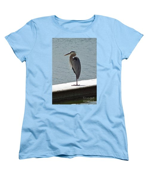 Women's T-Shirt (Standard Cut) featuring the photograph Catching Some Morning Rays by Carol  Bradley