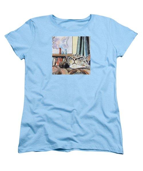 Catnip Women's T-Shirt (Standard Cut) by Stan Tenney