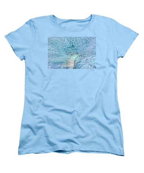 Cave Colors Women's T-Shirt (Standard Cut) by Wanda Krack