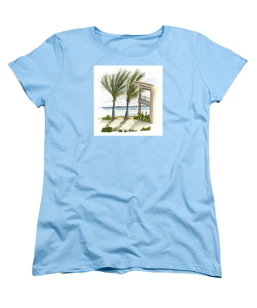 Cayman Hotel Women's T-Shirt (Standard Cut) by Darren Cannell