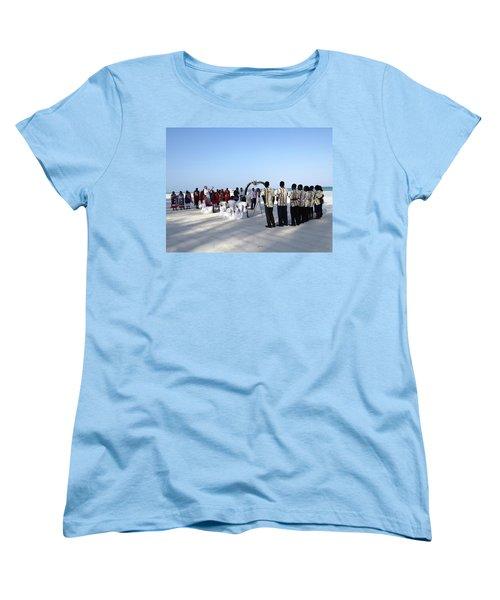 Celebrate Marriage In Kenya Women's T-Shirt (Standard Cut) by Exploramum Exploramum