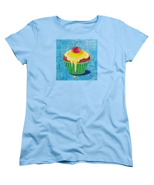 Women's T-Shirt (Standard Cut) featuring the painting Celebration by Susan DeLain