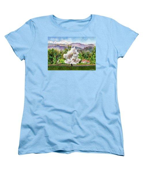 Celeste's Farm Women's T-Shirt (Standard Cut) by Anne Gifford