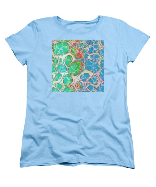 Cell Abstract 10 Women's T-Shirt (Standard Cut) by Edward Fielding