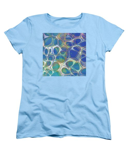 Cell Abstract 13 Women's T-Shirt (Standard Cut) by Edward Fielding
