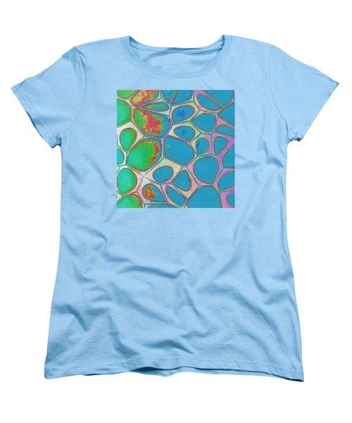 Cells Abstract Three Women's T-Shirt (Standard Cut) by Edward Fielding