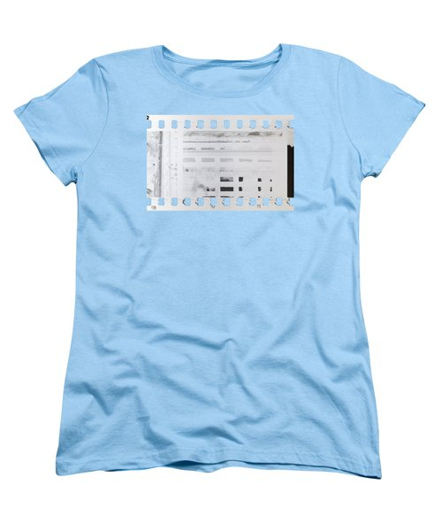 Celluloid Film Women's T-Shirt (Standard Cut) by Michal Boubin