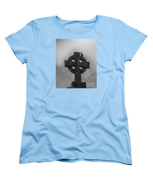 Celtic Cross #2 - Scotland Women's T-Shirt (Standard Cut) by Amy Fearn