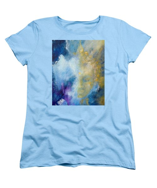 Women's T-Shirt (Standard Cut) featuring the painting Chakra by Dina Dargo
