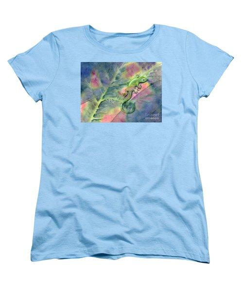 Chameleon Women's T-Shirt (Standard Cut)