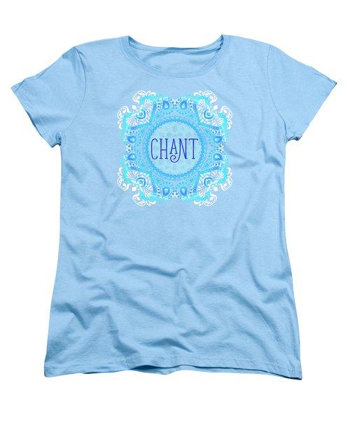 Women's T-Shirt (Standard Cut) featuring the digital art Chant by Tammy Wetzel