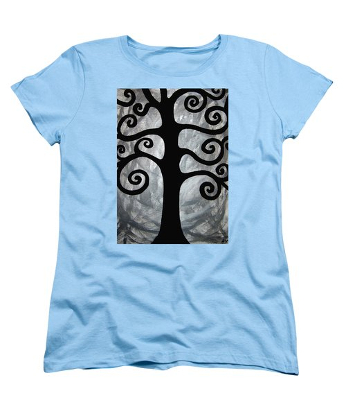 Chaos Tree Women's T-Shirt (Standard Cut) by Angelina Vick