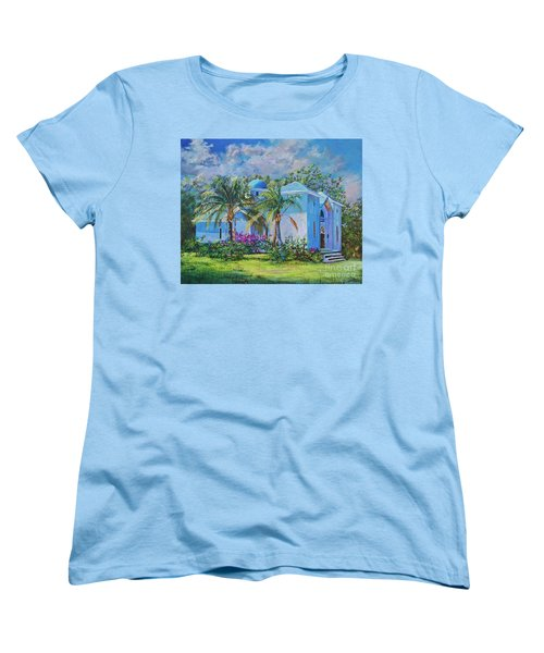 Chapel Of St. Panteleimon Women's T-Shirt (Standard Cut) by AnnaJo Vahle