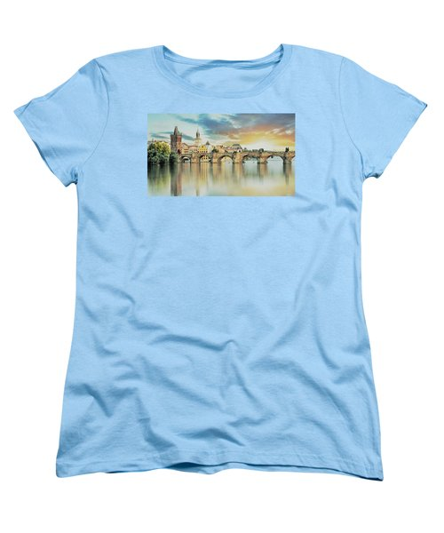 Charles Bridge Women's T-Shirt (Standard Cut)