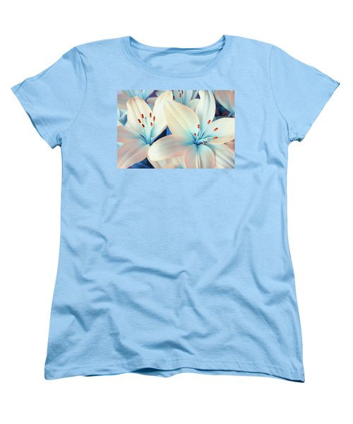 Charming Elegance Women's T-Shirt (Standard Cut) by Iryna Goodall