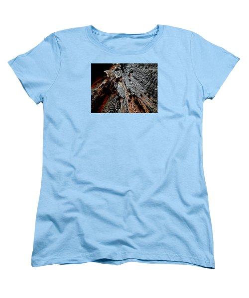 Charred Cedar Women's T-Shirt (Standard Cut) by Brian Chase