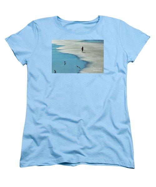 Chasing Shadows  Women's T-Shirt (Standard Cut) by Christy Ricafrente