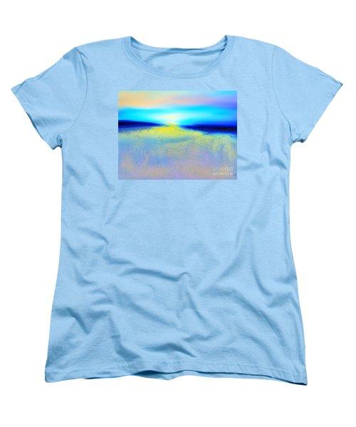 Chasing The Sun  Women's T-Shirt (Standard Cut)