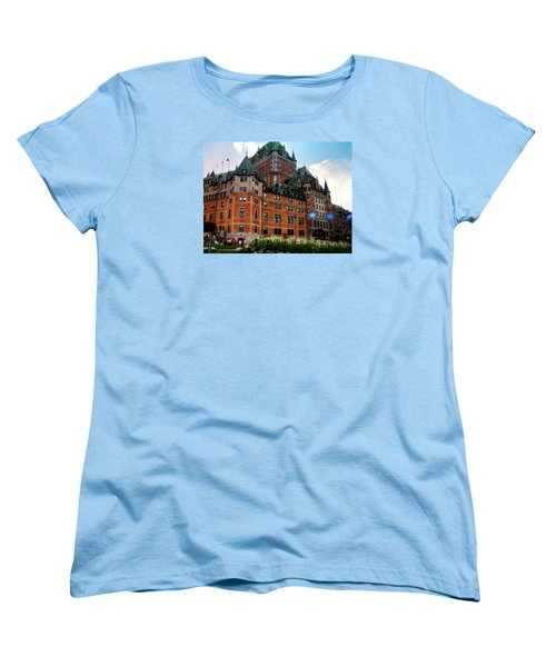 Chateau Frontenac Women's T-Shirt (Standard Cut) by Robin Regan