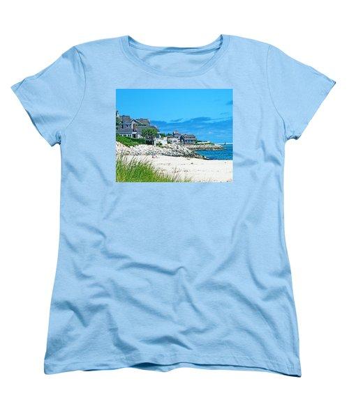 Chatham Cape Cod Women's T-Shirt (Standard Cut) by Lizi Beard-Ward