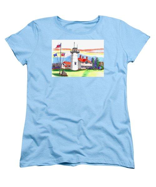 Chatham Lighthouse Women's T-Shirt (Standard Cut)