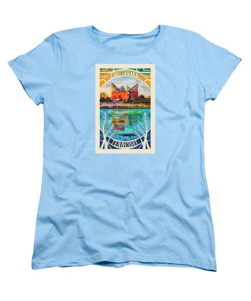 Chattanooga Aquarium Poster Women's T-Shirt (Standard Cut) by Steven Llorca