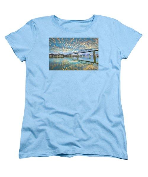 Chattanooga Has Crazy Clouds Women's T-Shirt (Standard Cut) by Steven Llorca