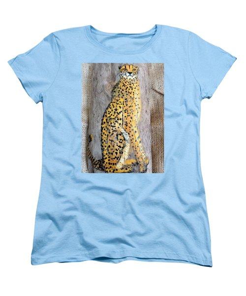 Cheetah Women's T-Shirt (Standard Cut) by Ann Michelle Swadener