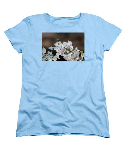 Cherry Blossoms Women's T-Shirt (Standard Cut) by Glenn Franco Simmons