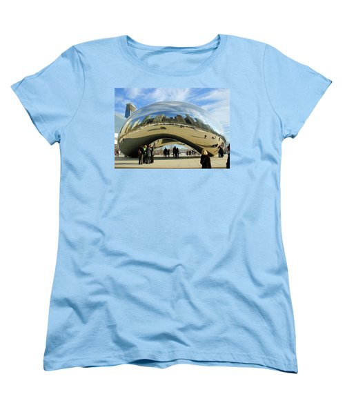 Chicago Reflected Women's T-Shirt (Standard Cut) by Kristin Elmquist