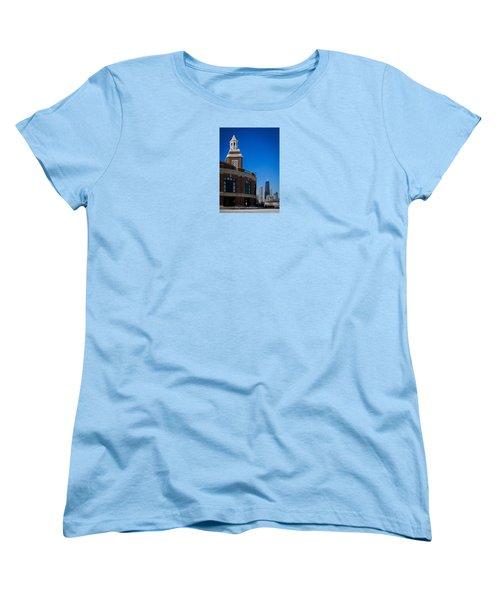 Chicago's Navy Pier Women's T-Shirt (Standard Cut) by Kathleen Scanlan