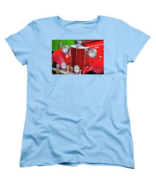 Women's T-Shirt (Standard Cut) featuring the photograph Chillipepper 1952 Mg by Chris Dutton