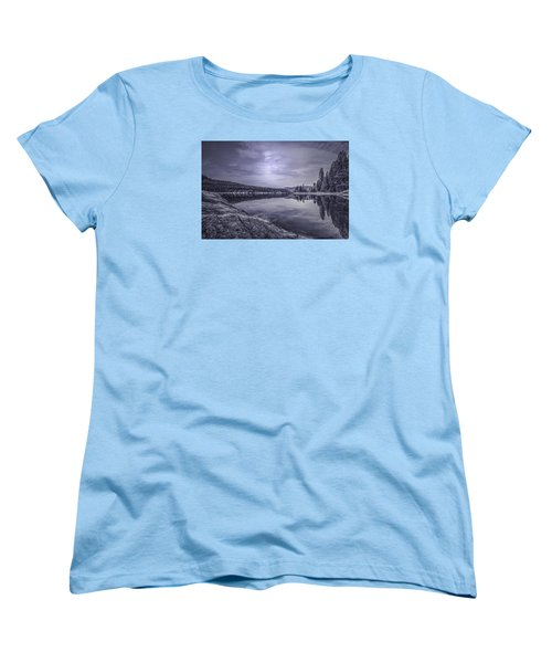 China Bend2 Women's T-Shirt (Standard Cut) by Loni Collins