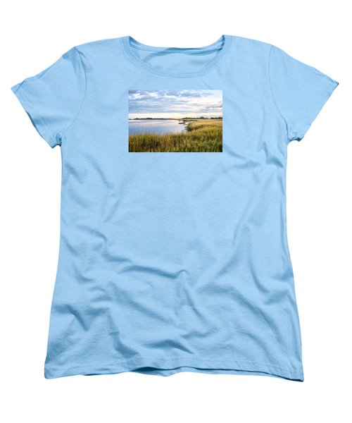 Chisolm Island Shoreline  Women's T-Shirt (Standard Cut) by Scott Hansen