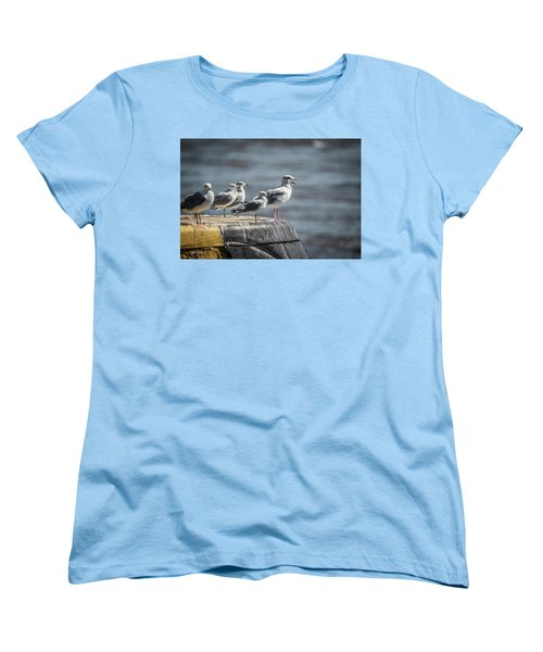 Choir Practice Women's T-Shirt (Standard Cut) by Ray Congrove