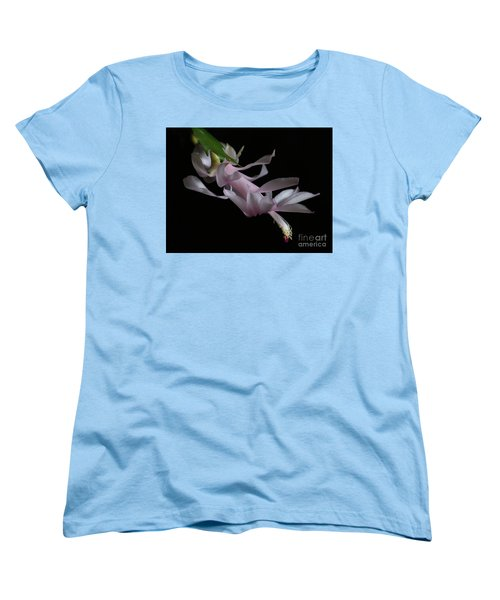 Christmas Cactus Women's T-Shirt (Standard Cut) by Marty Fancy